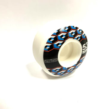Consolidated Skateboards Cube Logo Wheels 53mm 99a