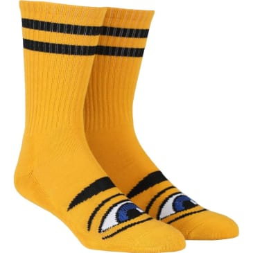 Toy Machine Sect Eye Crew Sock (Mustard)