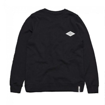 Traffic Skateboards Electric T Crewneck Sweatshirt - Black
