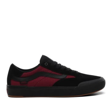 Vans Punk Berle Pro Skate Shoes - Black / Beet Red