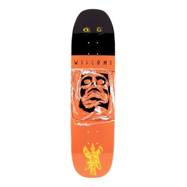 Welcome Skateboards Pazuzu on Son of Moontrimmer Skateboard Deck - 8.25""