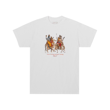 For Every Living Thing Holy Mountain T-Shirt - White