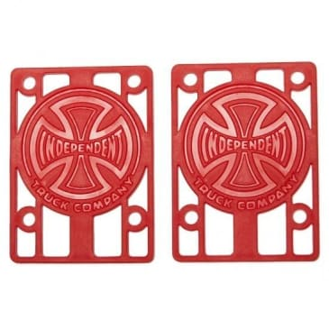 Independent Genuine Parts Risers Red (1/8)