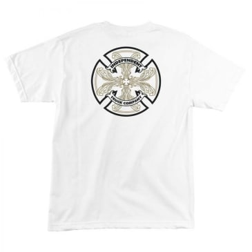 INDEPENDENT Cab Flourish Tee White
