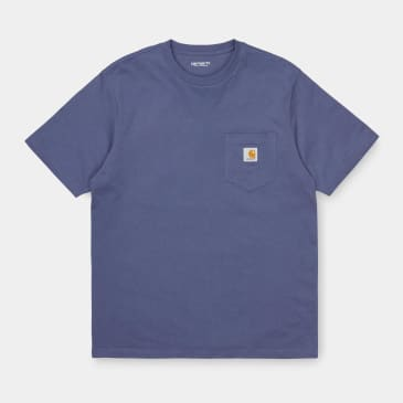 Carhartt WIP Pocket T-Shirt - Cold Viola