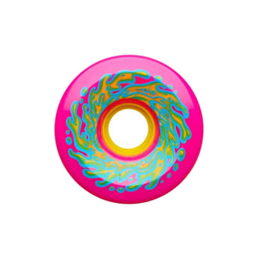 Slime Balls OG slime wheels 78A (neon pink/yellow, 66mm)