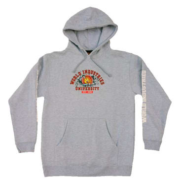 World Industries Flame Boy University Hood - Heather