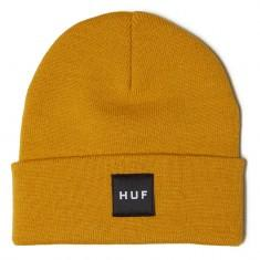 HUF Essentials Box Logo Beanie Golden Spice