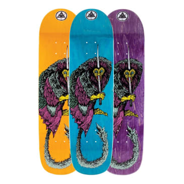 """Welcome Skateboards - 8.28"""" Tamarin On Son Of Planchette Deck (Pink Stain)"""