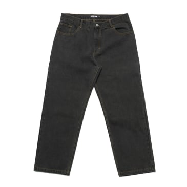 Chrystie NYC - Baggy fit denim pants_Washed black