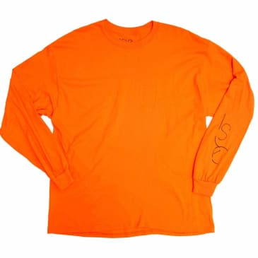 Isle Skateboards Sculpture Long Sleeve T-Shirt - Orange