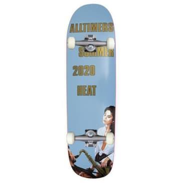 "Alltimers 2020 Heat Complete Cruiser Skateboard 8.75"""