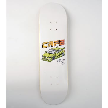 Skateboard Cafe Race Car Skateboard Deck - 8.5""