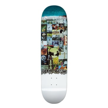"""Fucking Awesome Louie Lopez Collage Deck - 8.25"""""""