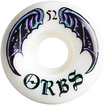 Orbs Wheels - Welcome Skateboards Orbs Specters Whites Wheels | 52mm
