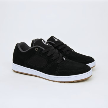 Es Footwear - Accel Slim Shoes - Black / White