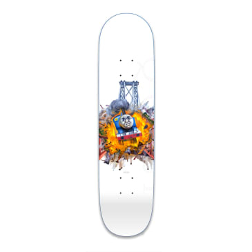 Quasi Rizzo Crazy Train Skateboard Deck - 8.5""