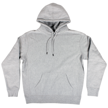 Heartthrobs Cross Weave Logo Hoodie Ash