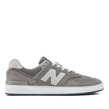 New Balance Numeric All Coasts 574 Skate Shoe - Grey / White