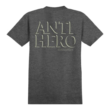 Antihero Drop Hero Tshirt - Grey