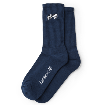 Last Resort AB Eyes Socks - Navy
