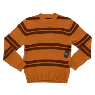 Brixton Wes Sweater - Maize/Bison