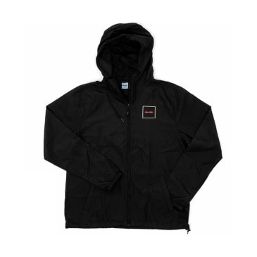 Chocolate - Modernica Hooded Windbreaker - Black