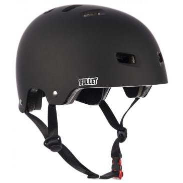 Bullet Deluxe T35 Matt Black Helmet - 49-54cm OSFA Youth