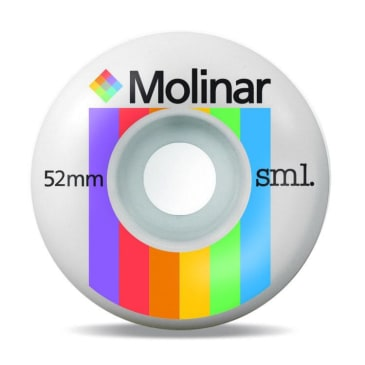 SML Wheels- Raymond Molinar Polaroid Wheels 52mm