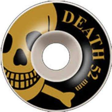 Death Skateboards OG Skull Wheels Bronze - 52mm