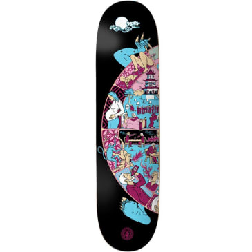 """The Drawing Boards - Wheel Of Life 1 Deck 8.375"""" Wide"""