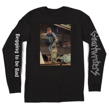 Gnarhunters Begging To Be Rad Frank Gerwer Long Sleeve Black