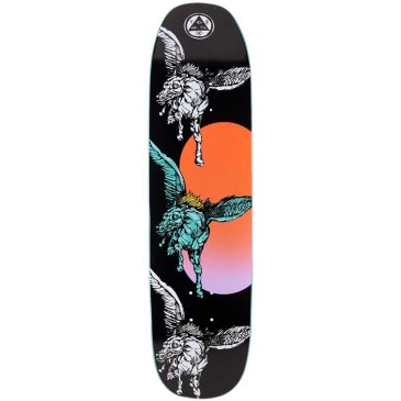 """Welcome Skateboards- PEGGSONMBLAC PEGGY ON SON OF MOONTRIMMER Deck 8.25"""""""