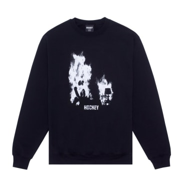Hockey At Ease Crewneck - Black