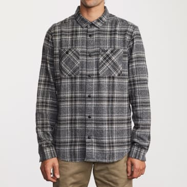 RVCA Mazzy Plaid Button-Up Flannel