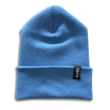 No-Comply Script Beanie Blue