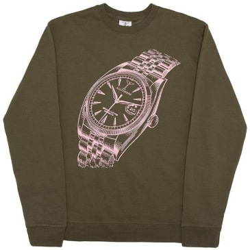 Alltimers Big Face Crew - Army Green