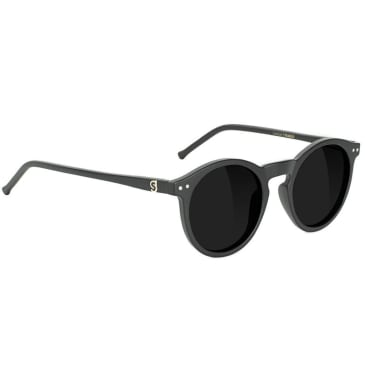 Glassy - TimTim Polarized Sunglasses - Matte Black
