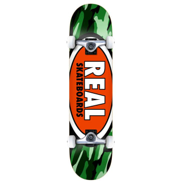 Real Complete - Oval Camo 7.75""