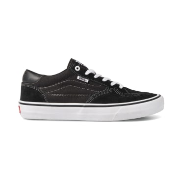 Vans Rowan Pro Skateboarding Shoe - Black / White
