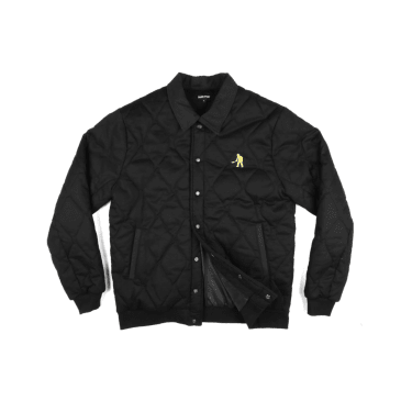 Pass~Port Skateboards - Late Quilted Jacket - Black