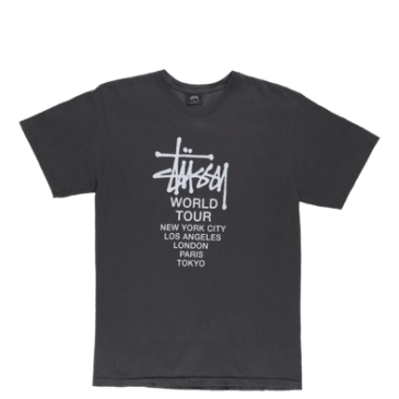 Stussy - Stussy Tour Pigment Dyed T-Shirt