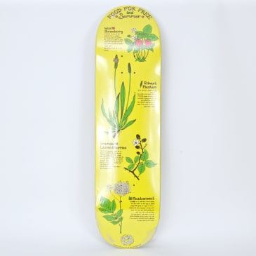 """The Drawing Boards - 8.0"""" Food for Free (Summer) Skateboard Deck"""