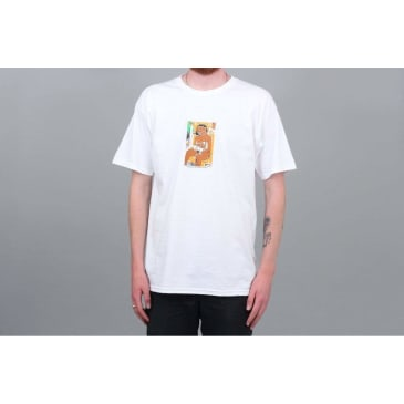 5Boro Subway Girl T-Shirt - White
