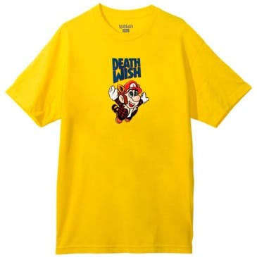 Deathwish Bros T-Shirt - Yellow