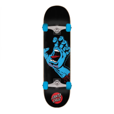 "Santa Cruz Screaming Hand Complete Skateboard - 8.0"""