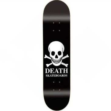 "Death Skateboards - 9"" OG Skull Deck (Black)"