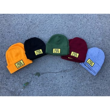 Our Life Patch Beanie/Green