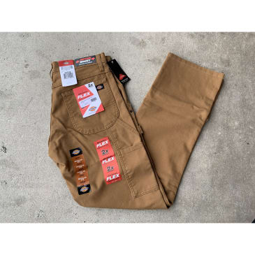 Dickies Carpenter Pants Brown Flex