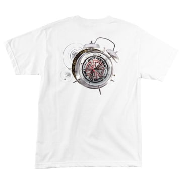 INDEPENDENT Smashed Tee White